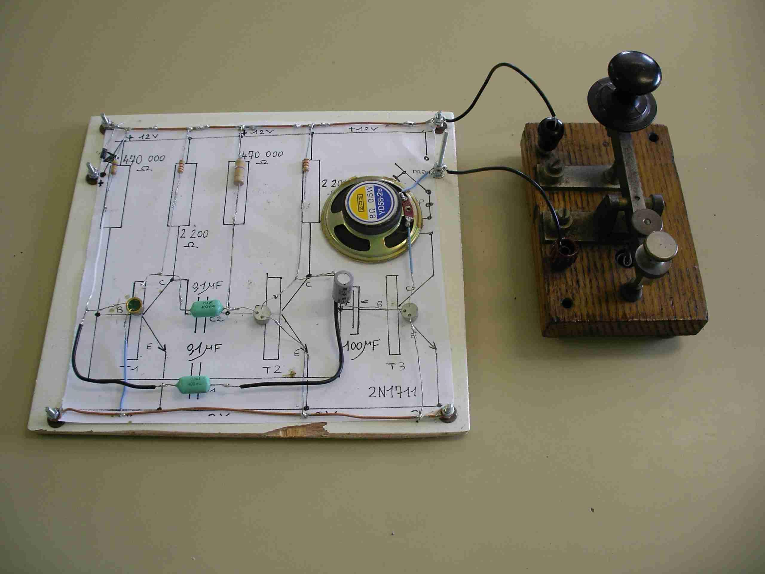 Composants et montage