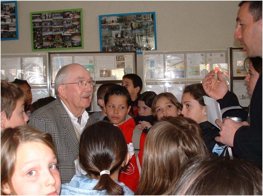Une des photos de Michel prise par F-15873 parmi les élèves lors du Saratech 2006, à Muret 31
